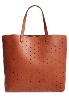 Madewell Transport Perforated Leather Tote