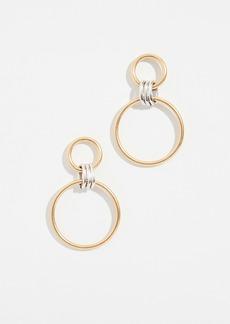 Madewell Triple Link Hoop Earrings