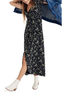 Madewell Tulip Sleeve Maxi Dress