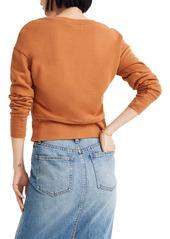 Madewell Tulip Texas Crop Sweatshirt