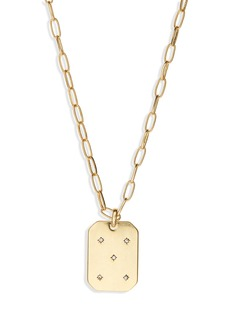 Madewell Twinkle Pavé Pendant Necklace