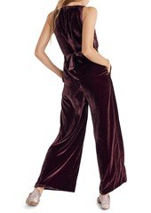 e7e7f7a75125 Madewell Madewell Twist Front Velvet Jumpsuit Now  106.80