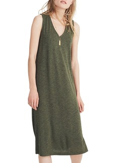 Madewell V-Neck Jersey Tank Dress