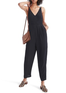 Madewell V-Neck Jumpsuit
