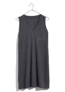 Madewell V-Neck Pocket Tank Dress
