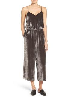 Madewell Velvet Camisole Jumpsuit