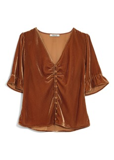 Madewell Velvet Daylight Top
