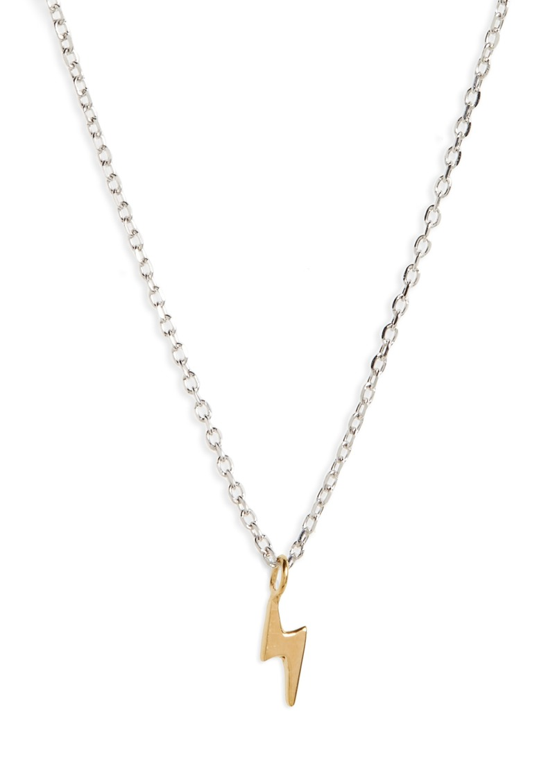 Madewell Vermeil Pendant Necklace