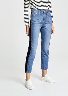 Madewell Vintage Tux Stripe Jeans