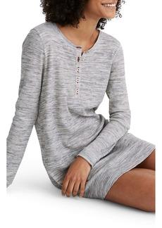 Madewell Waffle Knit Sleep Dress