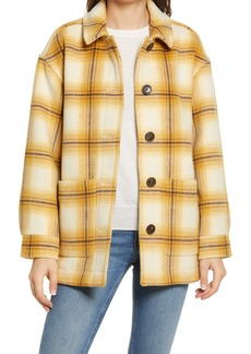 Madewell Walton Berean Plaid Shirt Jacket
