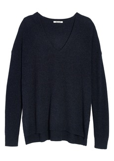 Madewell Warmlight V-Neck Sweater