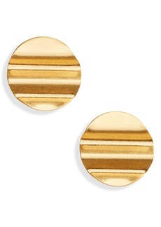 Madewell Waves Disc Earrings