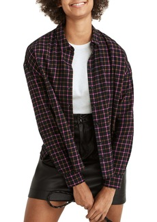Madewell Westlake Flannel Button-Up Shirt