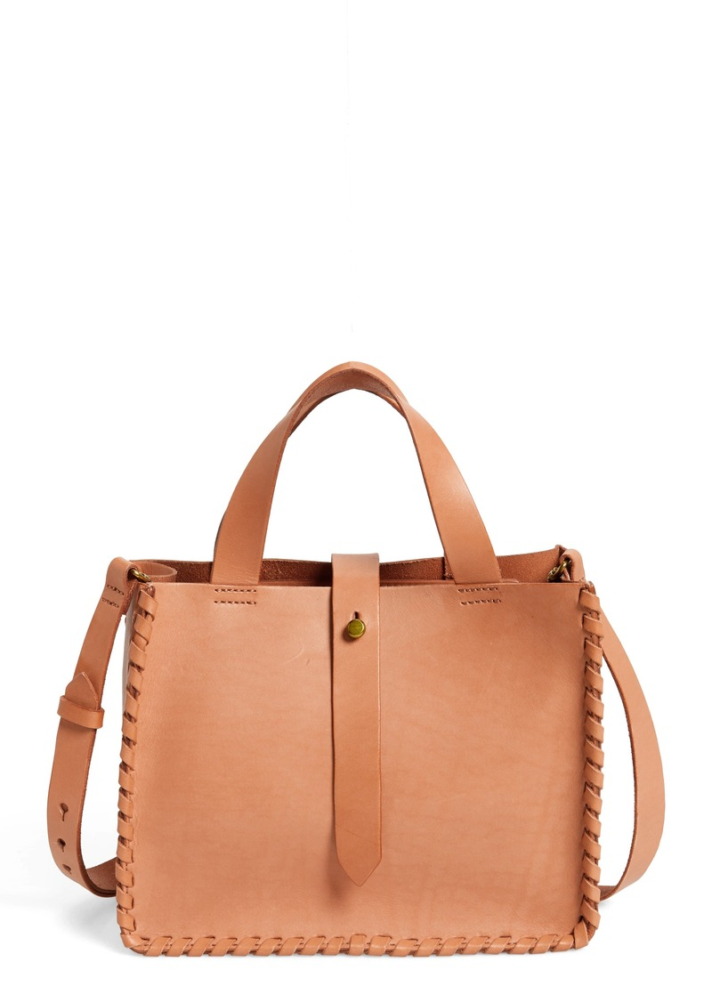 Madewell Whipsch Mini Leather Tote Bag