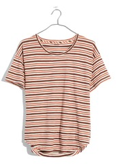 Madewell Whisper Cotton Stripe Crewneck Tee