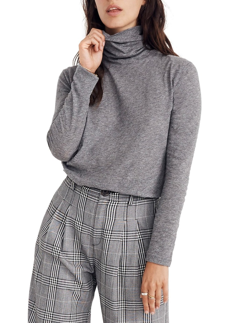 Madewell Whisper Cotton Turtleneck Top