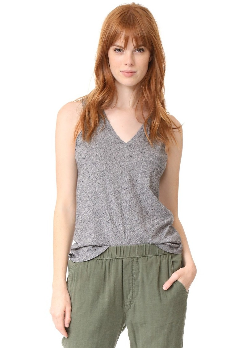 5921f18489c33 Madewell Madewell Whisper Cotton V Neck Tank