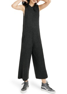 Madewell Wide Leg Sweater Jumpsuit