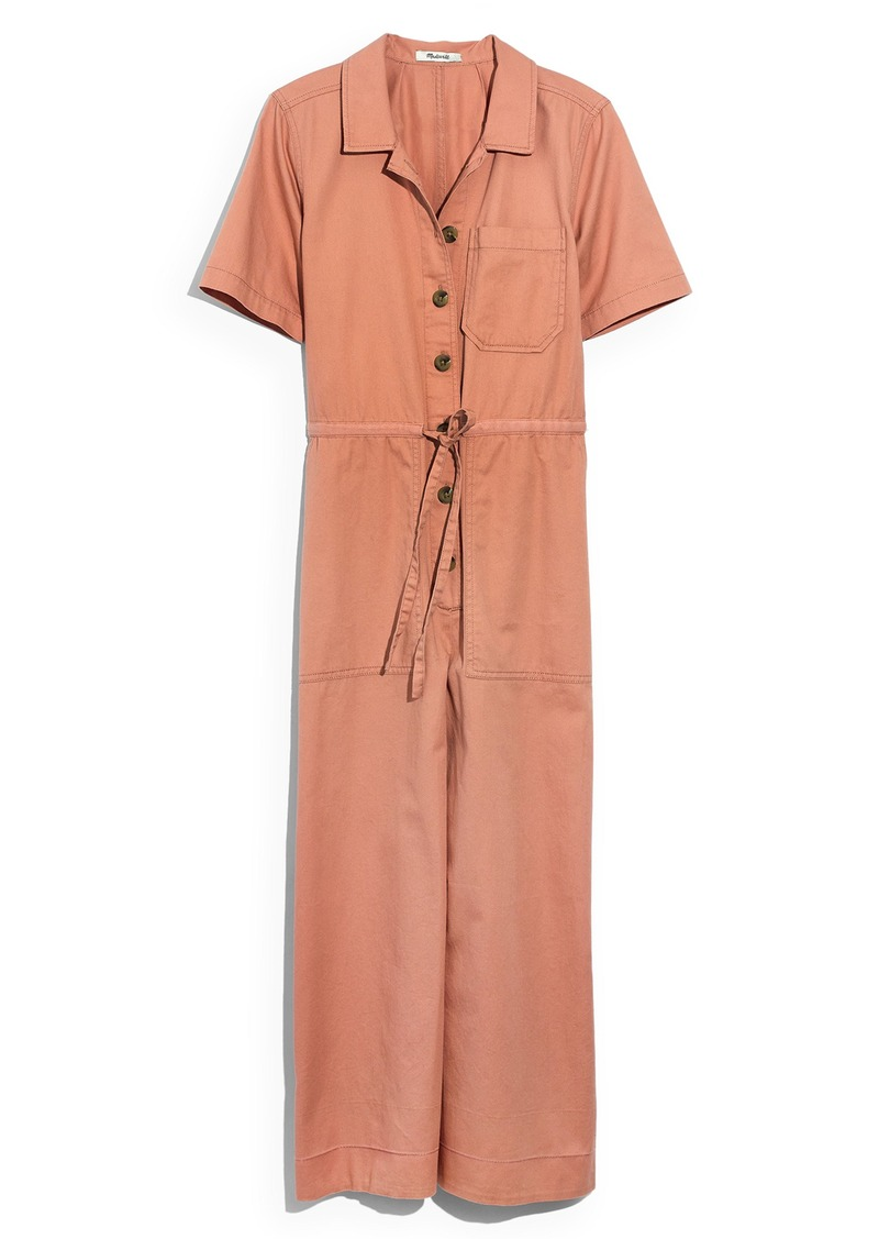 2eb9405b985 On Sale today! Madewell Madewell Wide Leg Utility Jumpsuit
