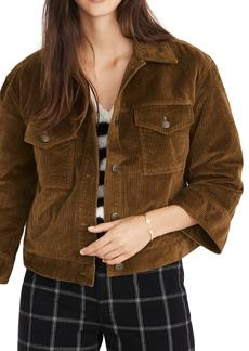 Madewell Wide Sleeve Corduroy Jacket