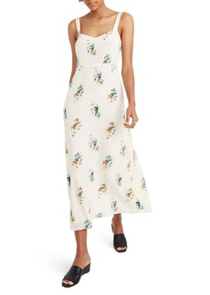 Madewell Wide Strap Silk Dress