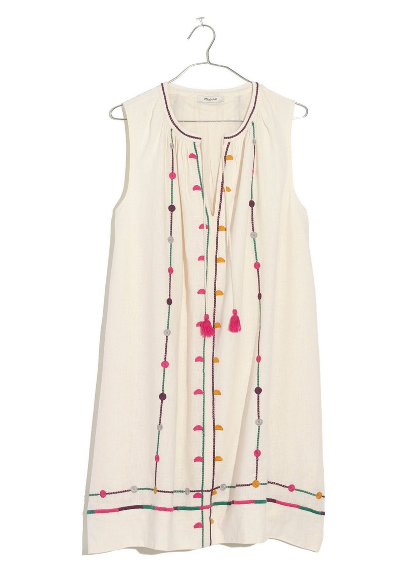5ed3e5e483 Madewell Madewell Willow Embroidered Shift Dress