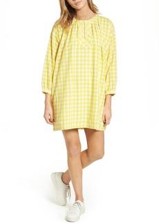 Madewell Willow Gingham Tunic Dress