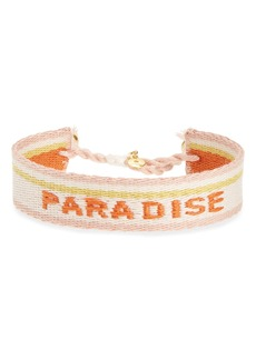 Madewell Woven Word Bracelet