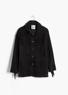 Madewell x Daryl K® Reseda Suede Fringe Jacket