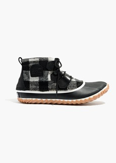 Madewell x Sorel® Out 'n About Boots in Buffalo Check