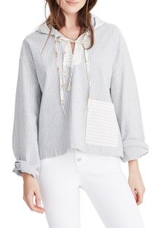 Madewell x The New Denim Project® Patchwork Popover Hoodie