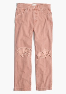 Madewell x Where I Was From™ Slim Straight Crop Jeans