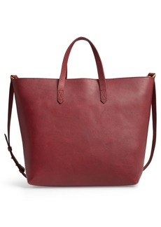Madewell Zip Top Transport Leather Carryall