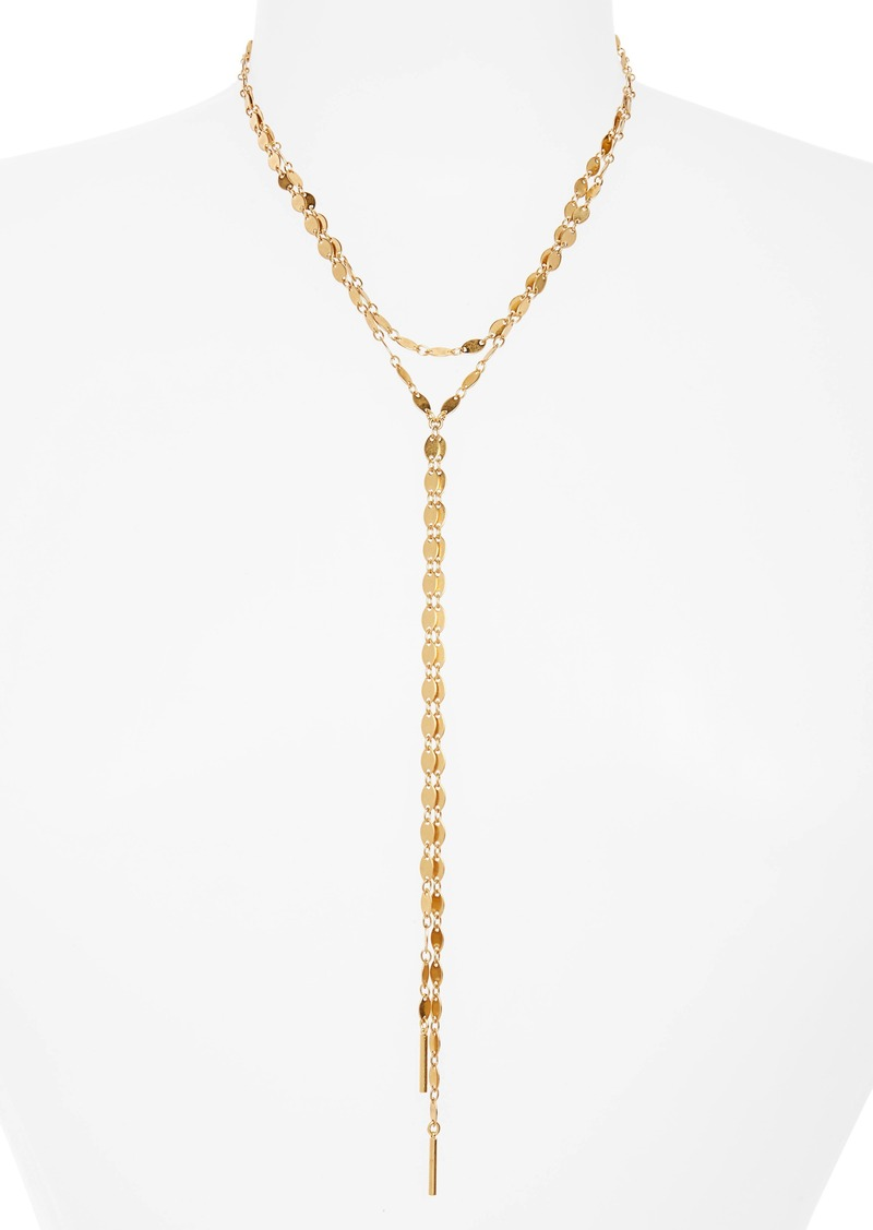 Madewelll Waterfall Y-Necklace
