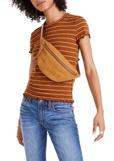 Madewell Madwell Baby Tee in Milstead Stripe