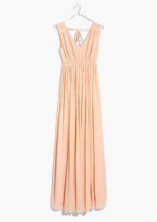 Magnolia Tie-Back Maxi Dress