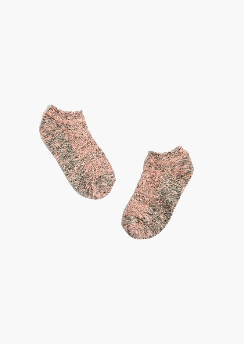 Madewell Marled Anklet Socks