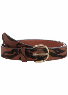 Madewell Medium Perfect Belt In Tiger Stripe