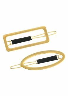 Madewell Metal Shape Clip Pack