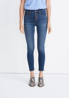 Madewell Mid Rise Skinny Crop Jeans