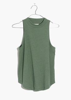 Madewell Mockneck Shirttail Tank Top