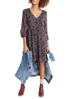 Madewell Moonblossom Ruffle Sleeve Dress