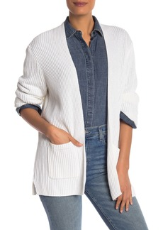 Madewell Nolan Ribbed Open Front Cardigan (Regular & Plus Size)