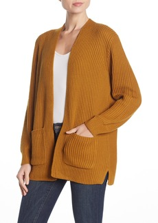 Madewell Nolan Ribbed Open Front Cardigan