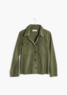 Northward Cropped Army Jacket