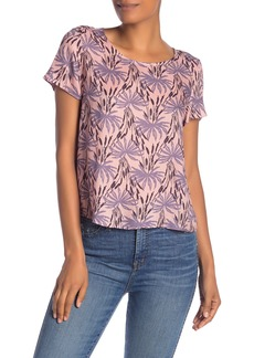 Madewell Oasis Tie-Back Cutout Blouse