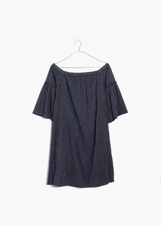 Off-the-Shoulder Bell-Sleeve Dress
