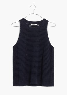 Madewell Openstitch Sweater Tank