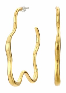 Madewell Organic Star Hoop Earrings
